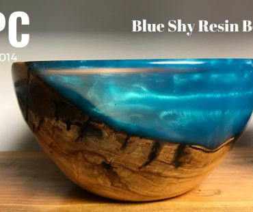 Blue Sky Resin Bowl