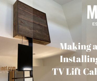 TV Lift Cabinet Build